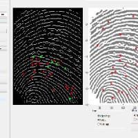 تشخیص اثر انگشت با متلب با استفاده از تکنیک های پردازش تصویر