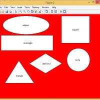 تشخیص اشکال هندسی درمتلبپروژه پردازش تصویر بهمراه گزارش
