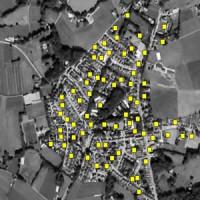 تشخیص ساختمان و اتوبان در تصاویر هوایی sar image در متلب