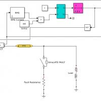 شبیه سازی رله اضافه جریان در متلب